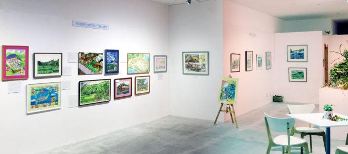 Exhibition in Ines fukuyama